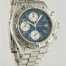 Breitling Colt Chronograph Stahl 40mm Blau Deutschland