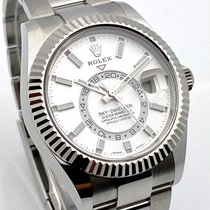 Rolex Sky-Dweller Steel 42mm White No numerals