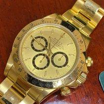 Rolex 16528 Желтое золото 1988 Daytona 40mm подержанные