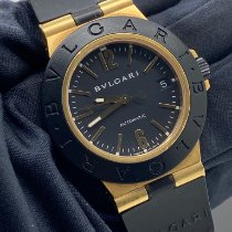 Bulgari Diagono AL 38 G Very good Yellow gold Automatic