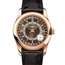 Patek Philippe Or rose 37mm Remontage automatique 6000R-001 occasion