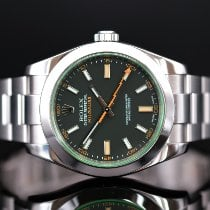 Rolex Milgauss Steel 40mm Black No numerals United Kingdom, Whitby- North Yorkshire