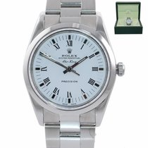 Rolex Steel Air King Precision 34mm pre-owned United States of America, New York