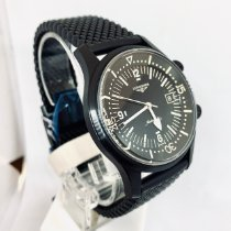 Longines Legend Diver Steel 42mm Black Arabic numerals United States of America, New York, NY