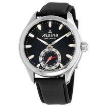 Alpina Horological Smartwatch Acero Negro