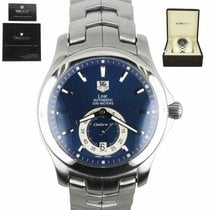 TAG Heuer Link Calibre 6 Steel 40mm Blue United States of America, New York, Smithtown