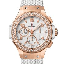 Hublot Big Bang 41 mm Rose gold 41mm White Arabic numerals United States of America, New York, New York City