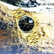 Rolex Day-Date 36 Or jaune 36mm Noir Sans chiffres France, Marseille