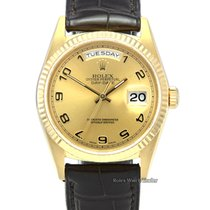 Rolex Day-Date 36 Or jaune 36mm Or Arabes
