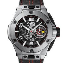 Hublot Big Bang Ferrari Titanio 45mm Transparente Arábigos