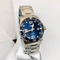 Longines L3.781.4.96.6 Steel 2021 HydroConquest 41mm new United States of America, New York, NY