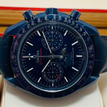 Omega Speedmaster Professional Moonwatch Moonphase 304.93.44.52.03.001 Neu Keramik Automatik