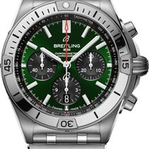 Breitling Steel 42mm Automatic AB01343A1L1A1 new