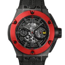 Hublot Big Bang Ferrari Carbono 45mm Negro Arábigos
