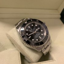 Rolex Sea-Dweller Deepsea Steel 44mm Black No numerals United Kingdom, Gateshead