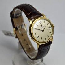 Tissot Weißgold Handaufzug Silber Arabisch 30,5mm gebraucht
