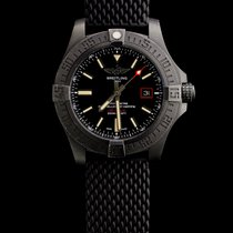 Breitling Titanium Automatic Black No numerals 44mm pre-owned Avenger Blackbird 44