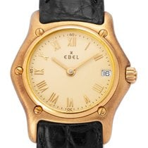 Ebel Yellow gold 21mm Quartz 888901 pre-owned