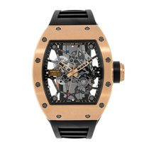 Richard Mille Rose gold Automatic Transparent pre-owned RM 035