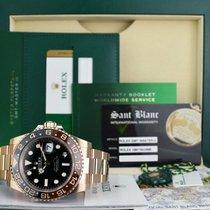 Rolex Керамика Черный 40mm подержанные GMT-Master II