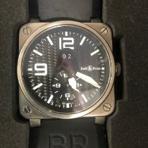 Bell & Ross BR 03-51 GMT Acero Negro