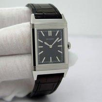 Jaeger-LeCoultre Grande Reverso Ultra Thin 1931 Acier 46mm Noir Sans chiffres