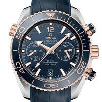 Omega Seamaster Planet Ocean Chronograph nuevo 2020 Automático Cronógrafo Reloj con estuche y documentos originales 215.23.46.51.03.001