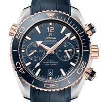 Omega Seamaster Planet Ocean Chronograph Сталь 45.5mm Синий