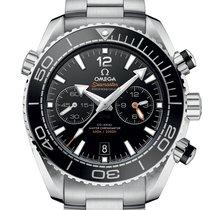 Omega Seamaster Planet Ocean Chronograph nuevo 2020 Automático Cronógrafo Reloj con estuche y documentos originales 215.30.46.51.01.001