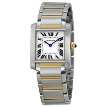 Cartier Tank Française Steel 31mm Silver Roman numerals United States of America, New York, New York