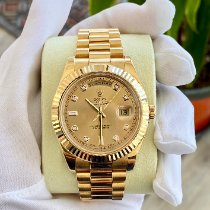 Rolex Day-Date II Желтое золото 41mm Золотой Римские