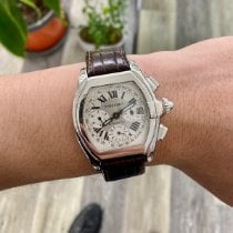 Cartier Roadster Steel 40mm White Roman numerals United States of America, New Jersey, Fort Lee