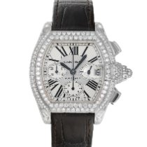 Cartier Roadster White gold 42mm Silver Roman numerals United States of America, Maryland, Baltimore, MD