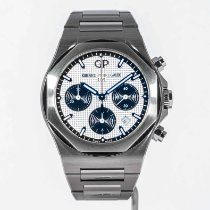 Girard Perregaux Laureato new 2020 Automatic Chronograph Watch with original box and original papers 81020-11-131-11A