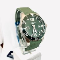Longines HydroConquest Steel 43mm Green Arabic numerals United States of America, New York, NY
