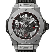 Hublot Big Bang Meca-10 Titanio 45mm Transparente Sin cifras