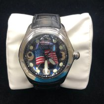 Corum Bubble Steel Black Arabic numerals United States of America, Maryland, Owings Mills