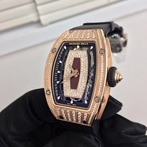 Richard Mille RM 07 Rose gold 45.66mm Transparent No numerals United States of America, New York, New York