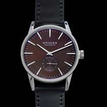 NOMOS Zürich Steel 39.7mm Brown United States of America, California, Burlingame