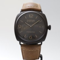 Panerai Céramique Remontage automatique Noir Arabes 45mm occasion Radiomir Black Seal 3 Days Automatic