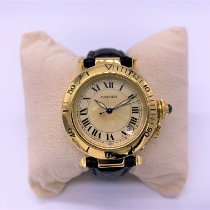 Cartier Pasha C Or jaune 35,5mm Champagne Arabes