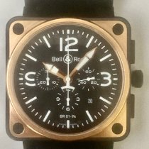 Bell & Ross BR 01-94 Chronographe Steel 46mm Black Arabic numerals United States of America, California, Upland