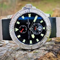 Ulysse Nardin Maxi Marine Diver Steel 42.7mm Black No numerals United States of America, South Carolina, GREENVILLE