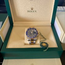 Rolex Submariner Date Gold/Steel 40mm Blue No numerals UAE, Dubai