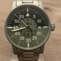 Fortis Steel 40mm Automatic 597.10.141 pre-owned