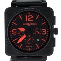 Bell & Ross BR 01-94 Chronographe Steel 46mm Black United States of America, Illinois