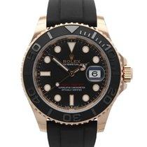 Rolex Yacht-Master 40 Rose gold 40mm Black