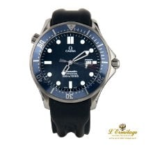Omega 2541.80 Steel Seamaster 41mm pre-owned