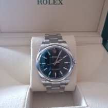 Rolex Oyster Perpetual 39 Acciaio Nero Senza numeri Italia, Collegno