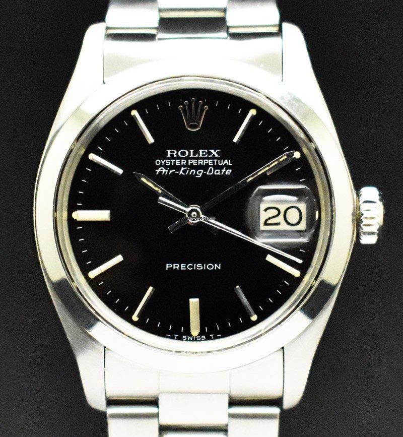 Rolex Air King Date 5700 1980 rabljen